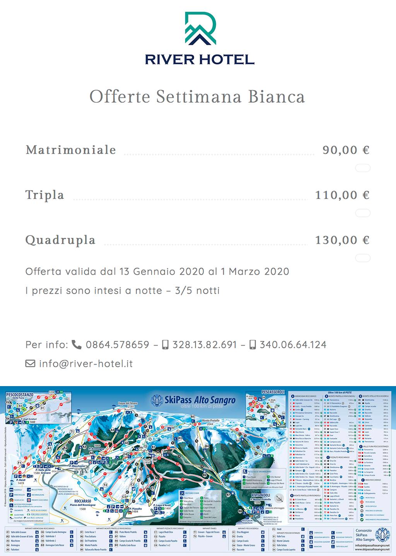 Offerte Settimana bianca - River Hotel Castel di Sangro