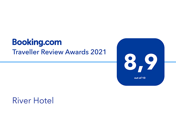 Premio Booking Traveller Review Awards 2021 - River Hotel Castel di Sangro